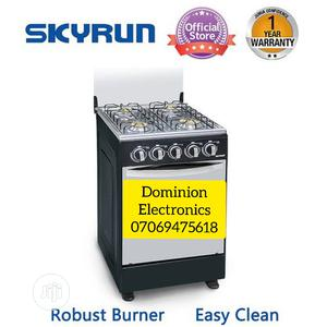 SKYRUN 50 By 50 Standing Gas Cooker With Oven Blue Flame | Kitchen Appliances for sale in Lagos State, Ojo