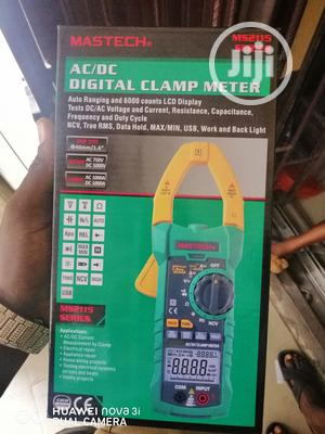 Mastech MS2115A AC-DC Digital Clamp Meter   Measuring & Layout Tools for sale in Lagos State, Amuwo-Odofin