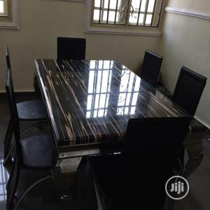 Stylish Brand New Marble Dining Table | Furniture for sale in Lagos State, Ojodu