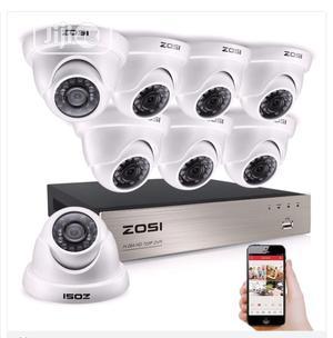 CCTV Surveillance Camera Installation 2yrs Warranty(4 Ch) | Security & Surveillance for sale in Akwa Ibom State, Ikot Ekpene