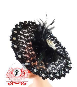 Black Hand Crafted Fascinator   Clothing Accessories for sale in Enugu State, Enugu