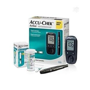 Accu-Chek Blood Glucose Check + Extra 50 Test Strips . | Tools & Accessories for sale in Lagos State, Lekki