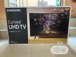 "Brand New 55"" Samsung Curved Uhd Hdr 4K 2020 TV UE55RU7300 | TV & DVD Equipment for sale in Lagos State, Lekki"