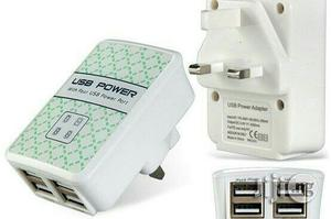 USB Powder Adapter With Four USB Powder Port | Accessories for Mobile Phones & Tablets for sale in Lagos State, Ikeja