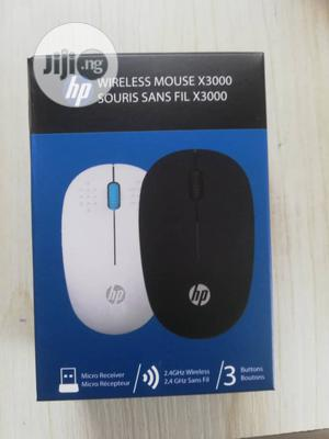 HP X3000 Wireless Mouse - Black | Computer Accessories  for sale in Lagos State, Ikeja