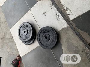 Locally Made Barbell Plate | Sports Equipment for sale in Lagos State, Shomolu
