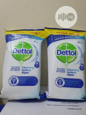 Dettol Anti Bacteria Surface Wipes. X 1packs | Bath & Body for sale in Lagos State, Oshodi