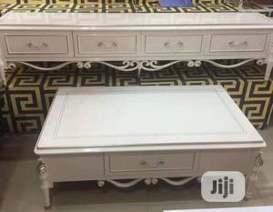 Executive Imported Royal Wooden Tv Stand And Center Table | Furniture for sale in Abuja (FCT) State, Garki 1