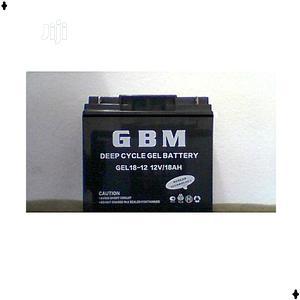 Gbm Battery 12v/18ah | Solar Energy for sale in Lagos State, Alimosho