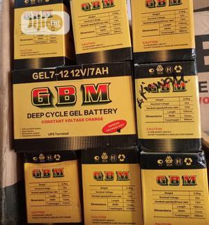 12V 7ah Gbm Battery | Solar Energy for sale in Lagos State, Alimosho