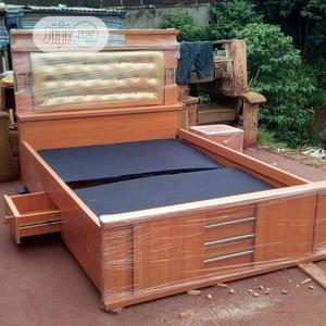 Bed Frame With One Bed Side   Furniture for sale in Lagos State, Ajah
