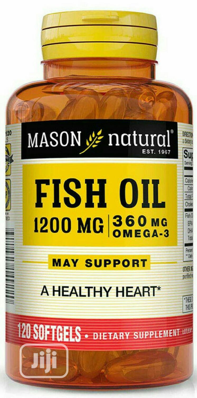 Mason Natural Fish Oil 1200mg/ 300mg Omega X 120