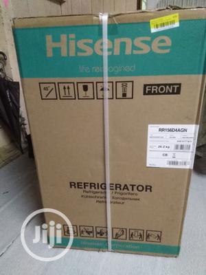 Brand New HISENSE Table Top Fridge, Silver,100L, External | Kitchen Appliances for sale in Lagos State, Ojo