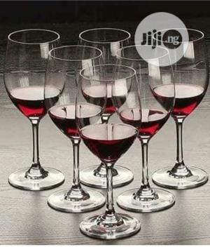 Champange/Wine Glass Set - 6pcs | Kitchen & Dining for sale in Lagos State, Lagos Island (Eko)