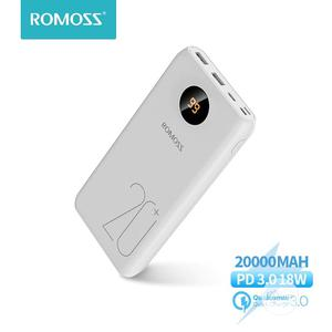 Romoss SW20 Pro 20000mah Powerbank   Accessories for Mobile Phones & Tablets for sale in Lagos State, Gbagada