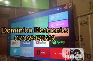 New LG Smart 65-Inch UHD 4K TV (Netflix) Free Bracket 2years | TV & DVD Equipment for sale in Lagos State, Ojo
