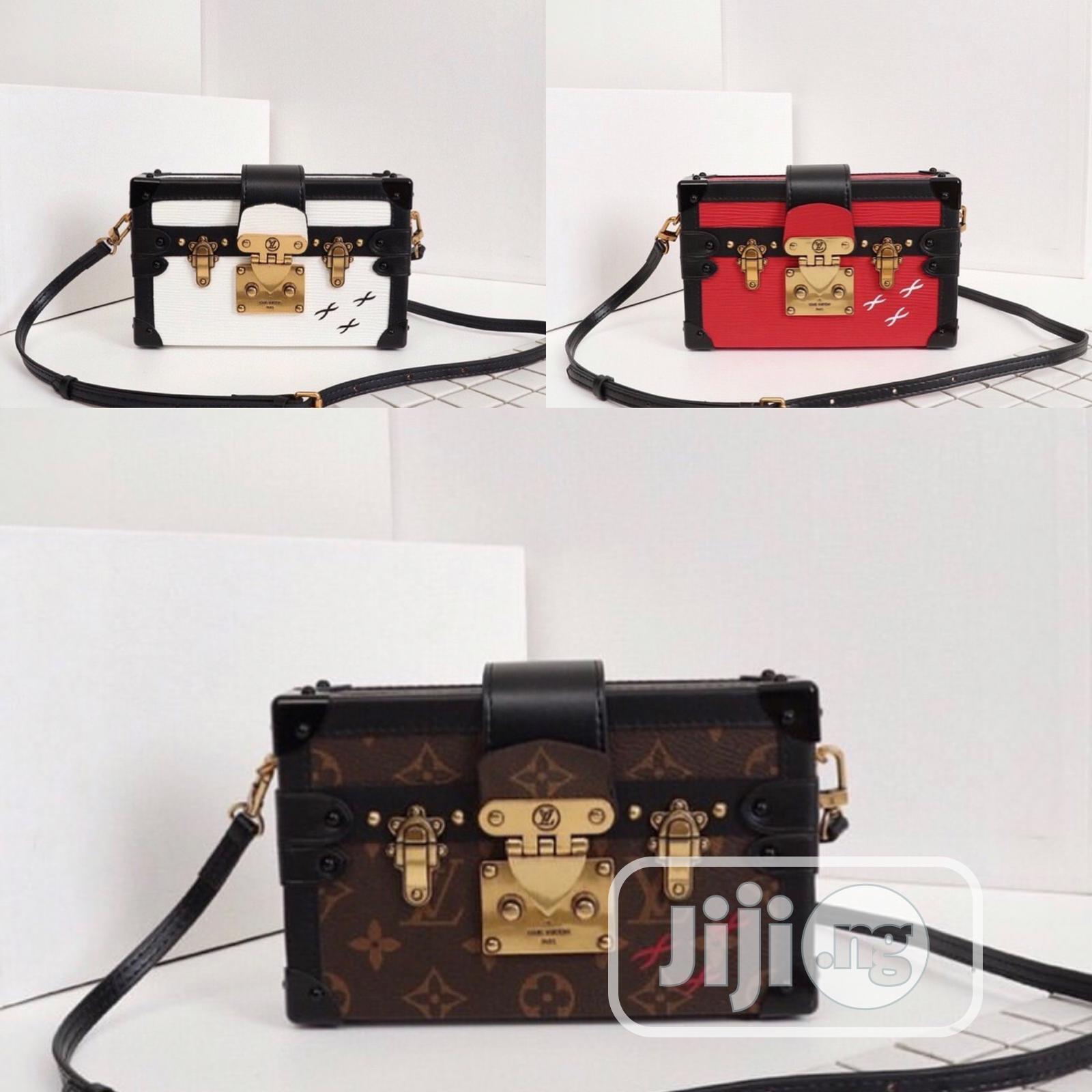 Louis Vuitton Soft Trunk Mini Shoulder Handbag