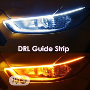 2x Car DRL LED Daytime Runnin Turn Strip Signal Light | Vehicle Parts & Accessories for sale in Lagos State, Ikoyi
