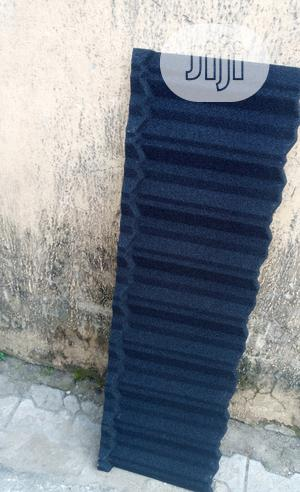 Docherich Black Classic Stone Coated Roofing Sheet For Sale | Building Materials for sale in Lagos State, Ajah
