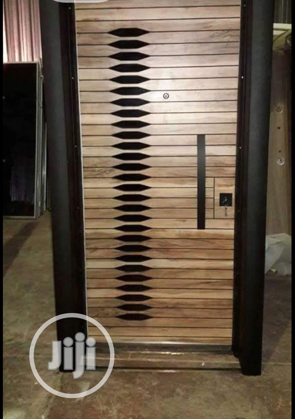 Turkish Luxury Door (Iroko)