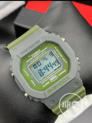 G-shock Light Green And Red Colours   Watches for sale in Rivers State, Port-Harcourt