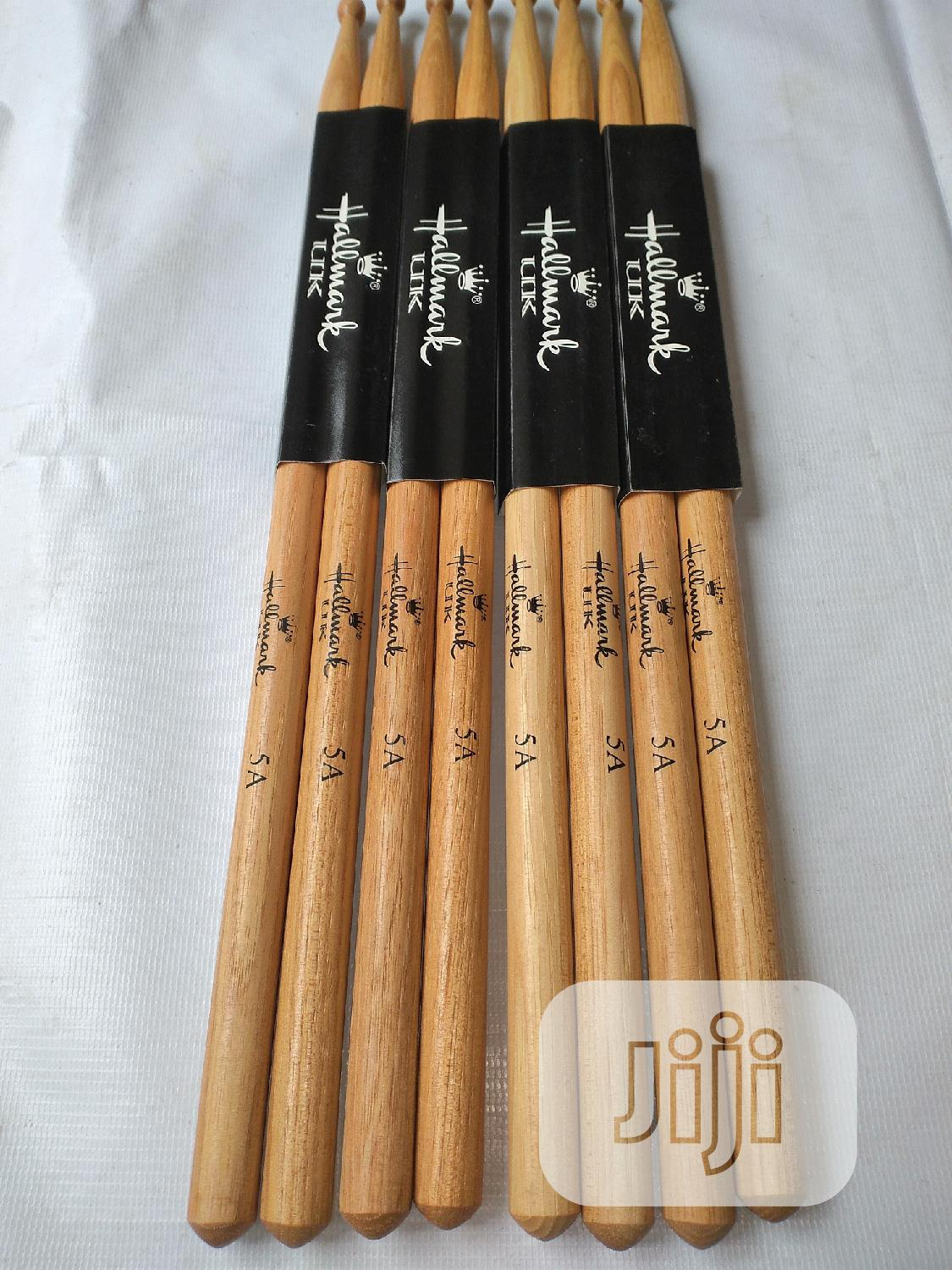 Hallmark-uk Selected Hickory Drum Sticks   Musical Instruments & Gear for sale in Ojo, Lagos State, Nigeria