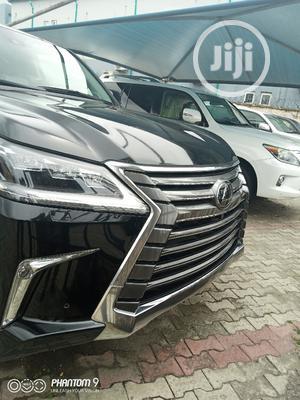 Lexus LX 2017 570 Base Black | Cars for sale in Lagos State, Apapa