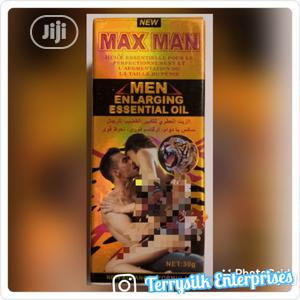 Maxman Penis Enlargement &Premature Ejaculation Oil   Sexual Wellness for sale in Lagos State, Surulere