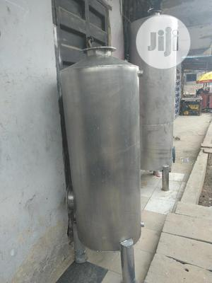 20 Inches By 4feet Stainless Tank For Water Treatment | Plumbing & Water Supply for sale in Lagos State, Orile