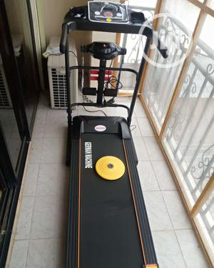 2hp Treadmill With Massager, Twister,Mp3 and Dumbells,110kg   Sports Equipment for sale in Lagos State, Surulere