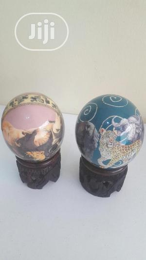 Painted Ostrich Eggs Decor | Home Accessories for sale in Lagos State, Lekki