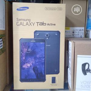 New Samsung Galaxy Tab Active 16 GB Black | Tablets for sale in Lagos State, Ikeja