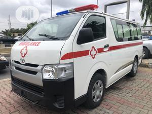 Ambulance Toyota Hiace 2014 White Full Kitted} | Buses & Microbuses for sale in Lagos State, Ikeja