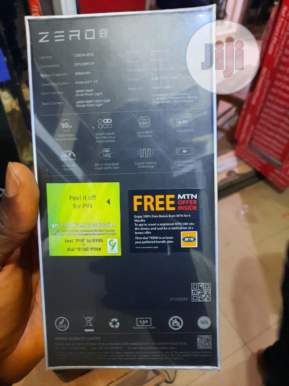 New Infinix Zero 8 128 GB | Mobile Phones for sale in Ikeja, Lagos State, Nigeria