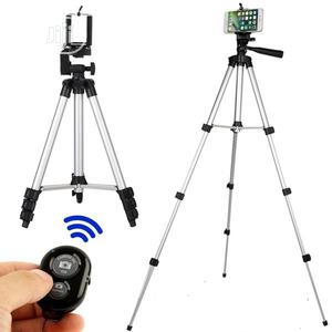 Tripod Stand Holder With Bluetooth Remote   Accessories & Supplies for Electronics for sale in Lagos State, Ikeja