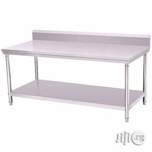 Stainless Steel Work Table   Restaurant & Catering Equipment for sale in Lagos State, Ojo