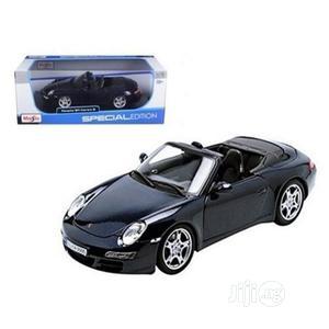 Porsche 911 997 Carrera S Blue Cabriolet 1/18 Diecast.Maisto | Toys for sale in Lagos State, Ikeja