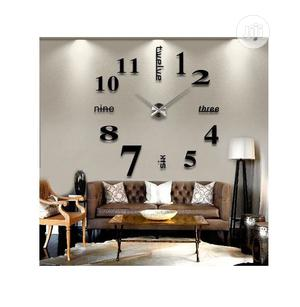 3D Mirror Wall Stickers Creative DIY Wall Clocks | Home Accessories for sale in Lagos State, Ikoyi
