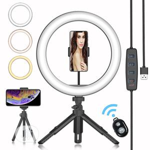 Hot 10inces Ringlight Mobile Phone Live Beauty Light Desktop | Accessories & Supplies for Electronics for sale in Lagos State, Surulere