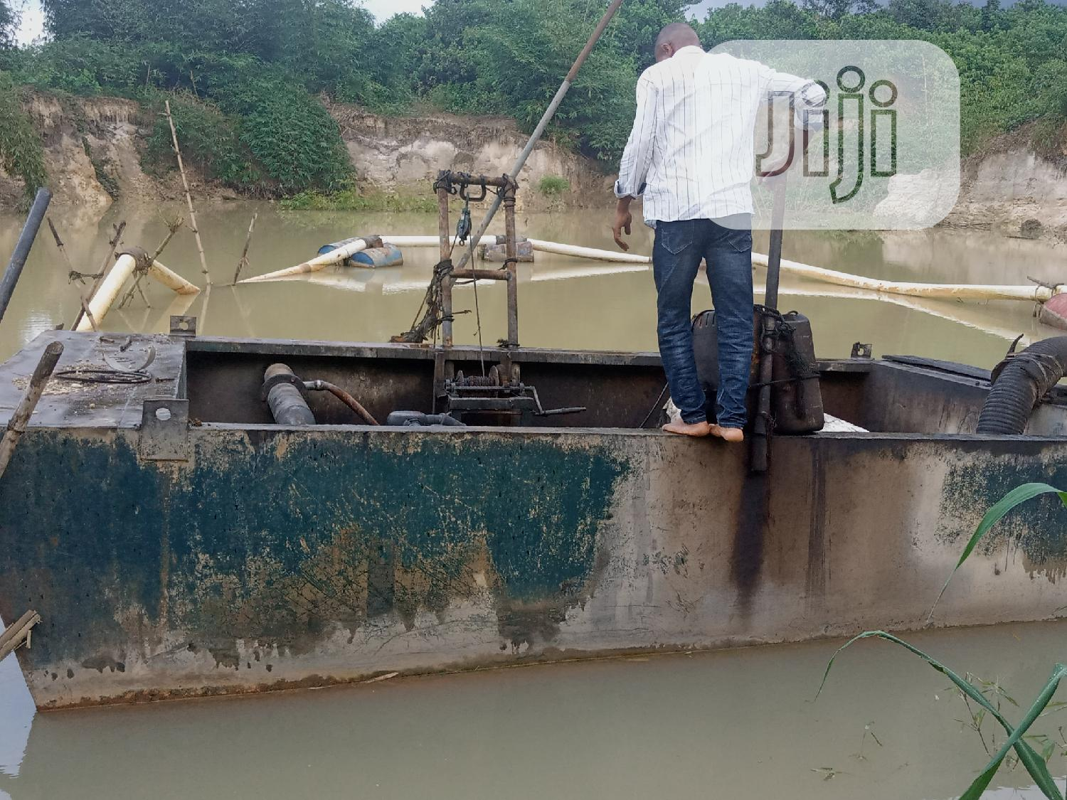 Archive: Rolls Royce Perkins 8 Inches Dredger