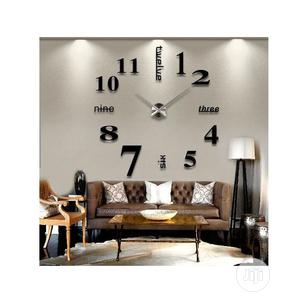 3D DIY Large Wall Clock Modern Design Wall Sticker Clock | Home Accessories for sale in Lagos State, Lekki