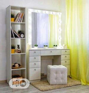 Make-Up Dressers Table With Mirror Glass | Furniture for sale in Lagos State, Ikeja
