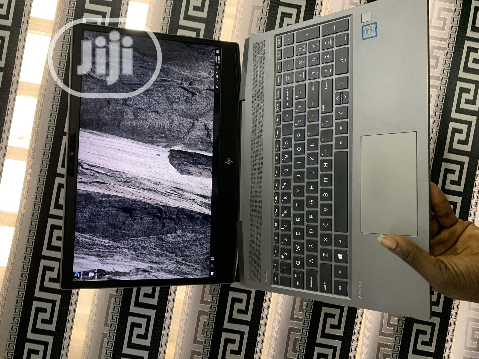 Laptop HP ZBook 15 G4 16GB Intel Core i7 SSD 512GB   Laptops & Computers for sale in Ikeja, Lagos State, Nigeria