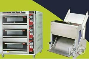Gas Industrial Oven Ad Bread Slicer | Restaurant & Catering Equipment for sale in Lagos State, Ojo