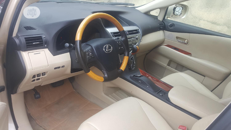 Lexus RX 2010 350 Gold | Cars for sale in Amuwo-Odofin, Lagos State, Nigeria