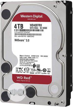 WD Red Nas 4tb Internal Hard Drive   Computer Hardware for sale in Lagos State, Ikeja
