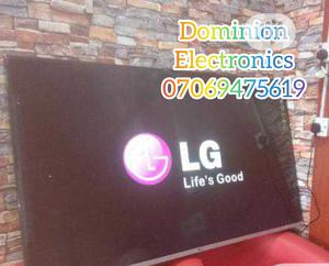 New LG Smart 65-Inch UHD 4K TV (NETFLIX) Free Bracket 2yrs | TV & DVD Equipment for sale in Lagos State, Ojo