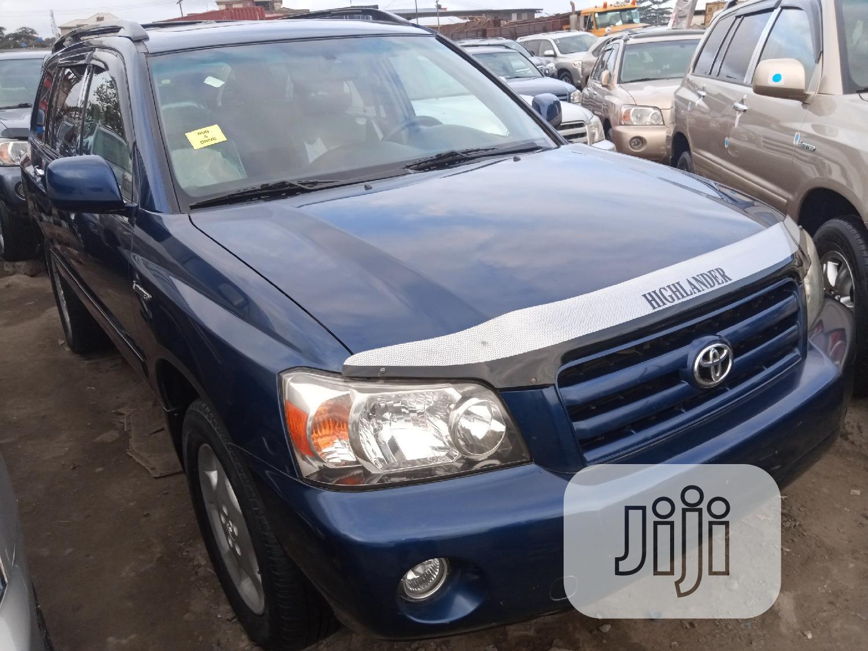 Toyota Highlander 2005 Limited V6 Blue