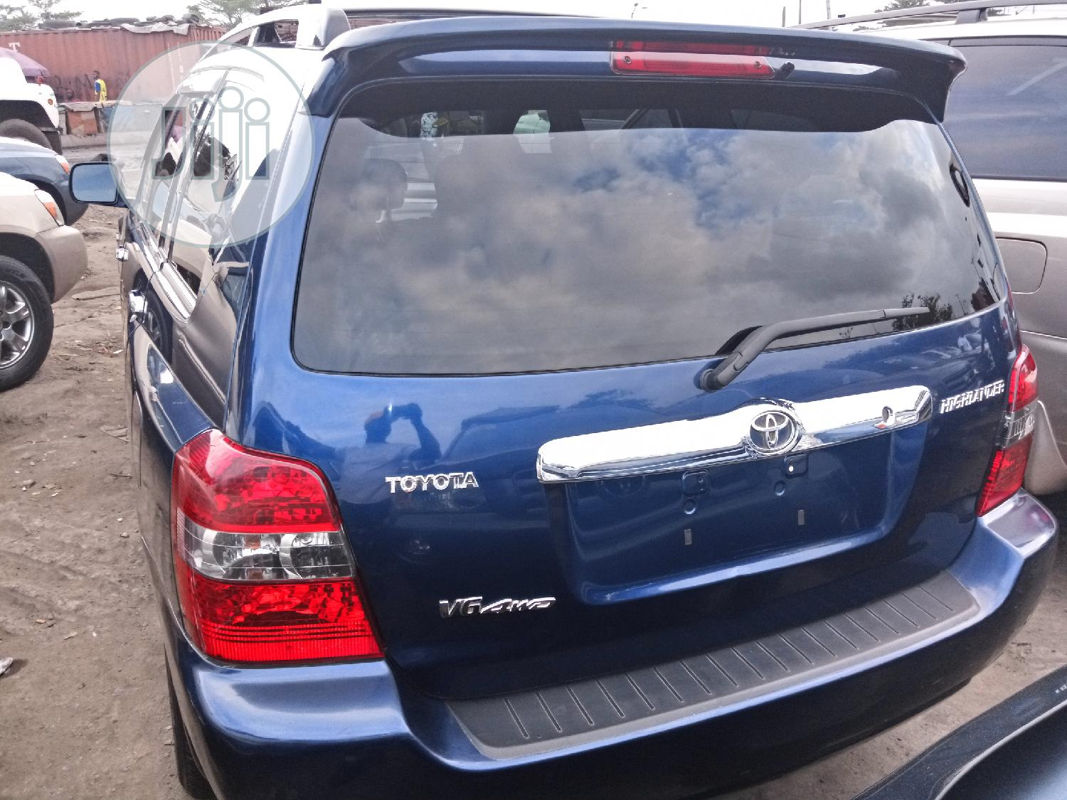 Toyota Highlander 2005 Limited V6 Blue | Cars for sale in Apapa, Lagos State, Nigeria