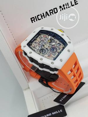 High Quality Richard Mille Rubber Strap Watch | Watches for sale in Oyo State, Ibadan